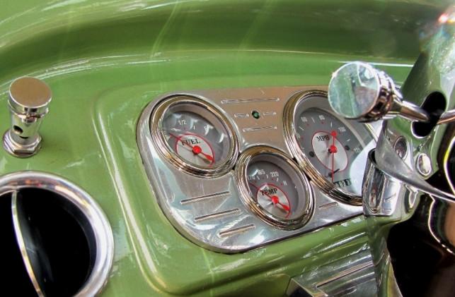 Chevy Amaturenanzeige Detail