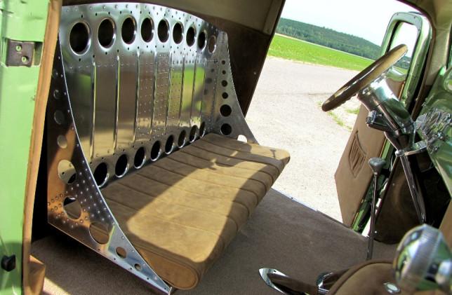 Chevy Innenraum Beifahrertür