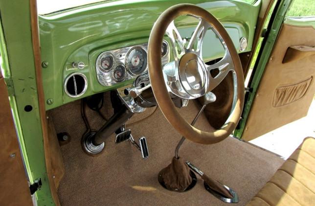 Chevy Innenraum Fahrertür