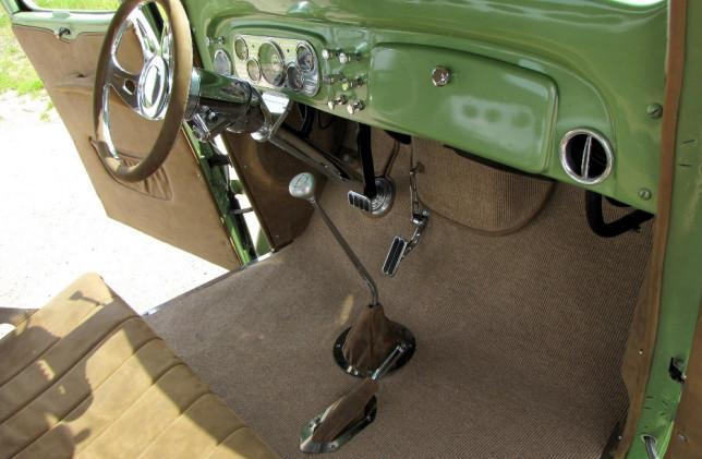 Chevy Innenraum Fussraum