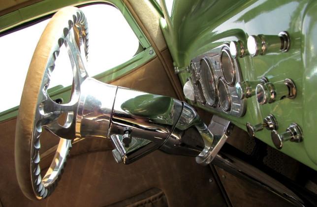 Chevy Lenkrad Beifahrerseite