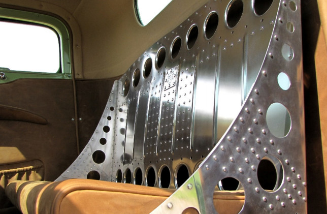 Chevy Sitz Fahrerseite Detail