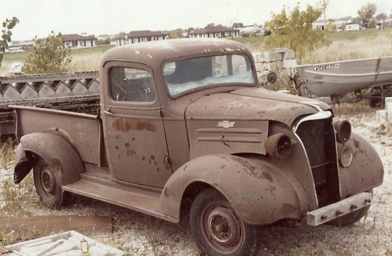 Chevy vorher front